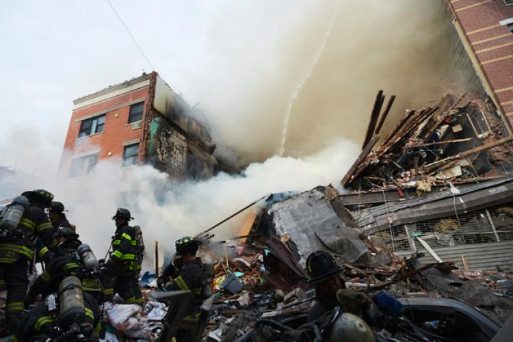 New York gas explosion