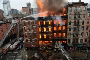 gas explosion accident NYC