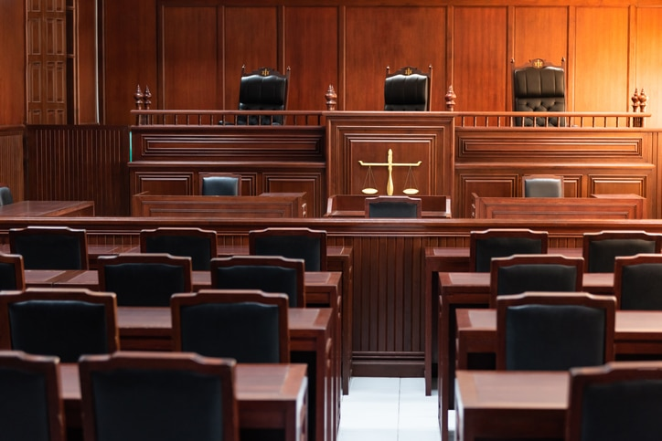 court room wrongful death