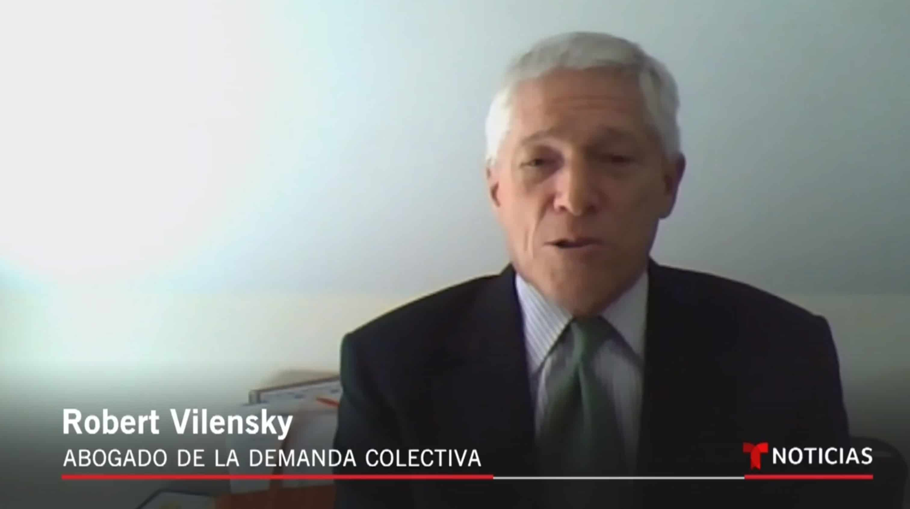 Robert Vilensky COVID-19 Telemundo Interview