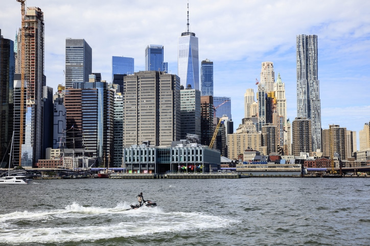 Boating and jet ski accidents NYC are up due to COVID-19